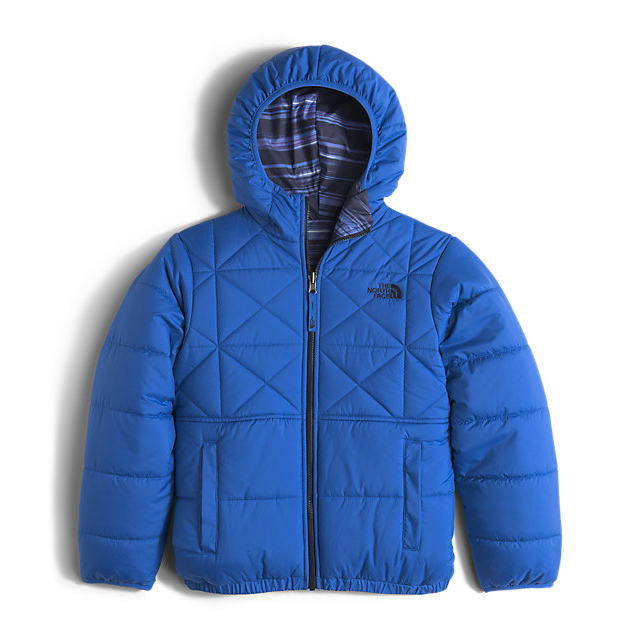 CHEAP NORTH FACE BOYS' REVERSIBLE PERRITO JACKET JAKE BLUE ONLINE