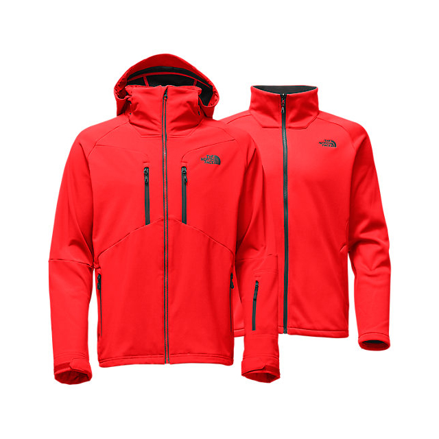CHEAP NORTH FACE MEN'S APEX STORM PEAK TRICLIMATE JACKET FIERY RED ONLINE