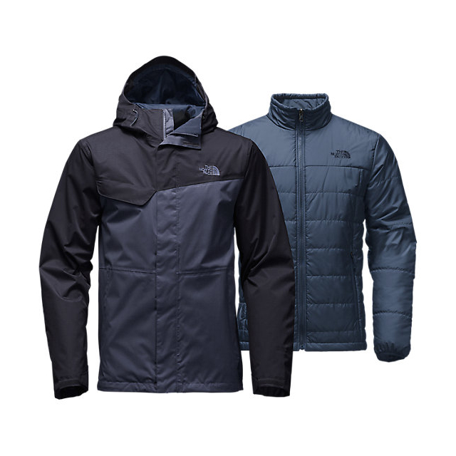 CHEAP NORTH FACE MEN'S BESWICK TRICLIMATE  JACKET SHADY BLUE/URBAN NAVY ONLINE