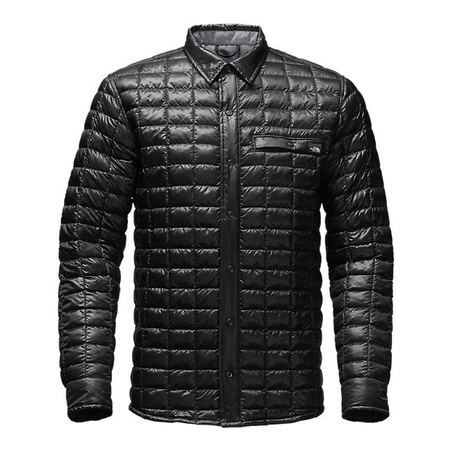 CHEAP NORTH FACE MEN'S REYES THERMOBALL  SHIRT JACKET BLACK ONLINE
