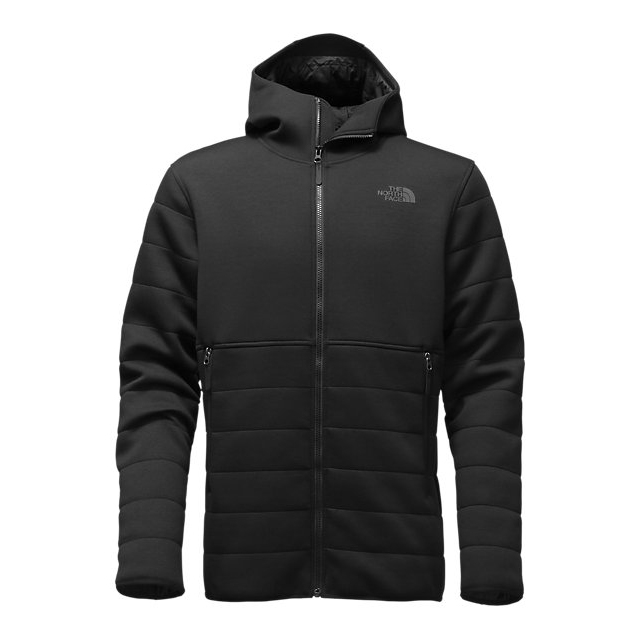 CHEAP NORTH FACE MEN'S HOODED HALDEE INSULATED JACKET BLACK ONLINE