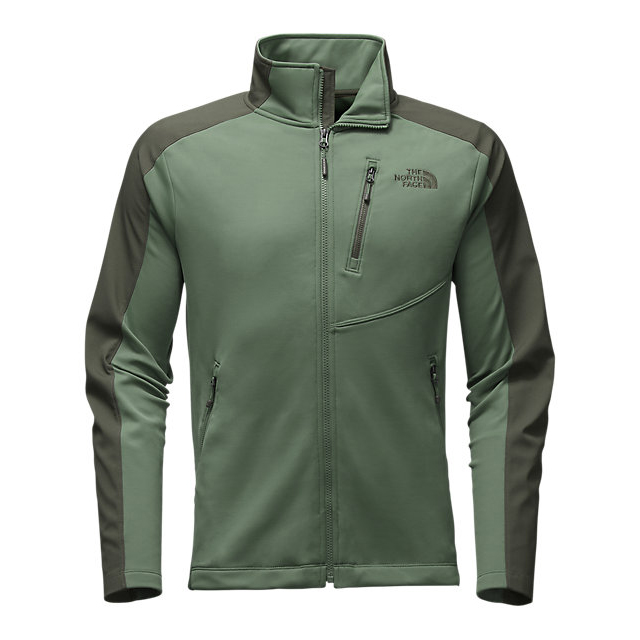 CHEAP NORTH FACE MEN\'S TENACIOUS HYBRID FULL ZIP DUCK GREEN/CLIMBING IVY GREEN ONLINE