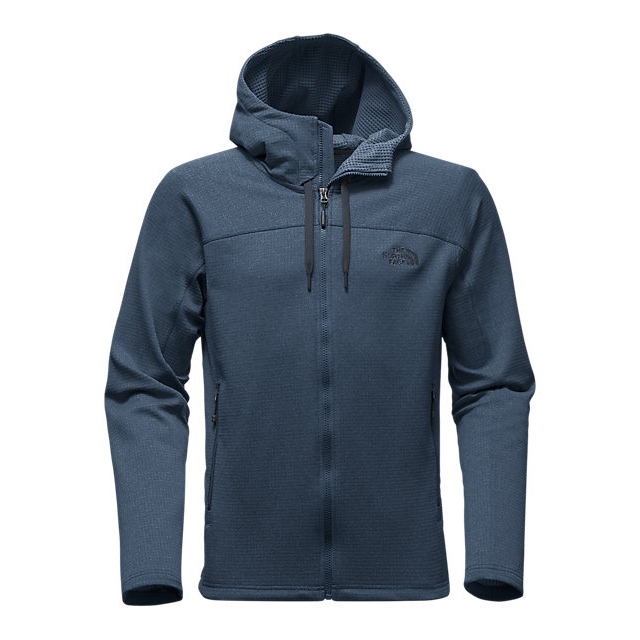 CHEAP NORTH FACE MEN'S NEEDIT HOODIE SHADY BLUE HEATHER/SHADY BLUE HEATHER ONLINE