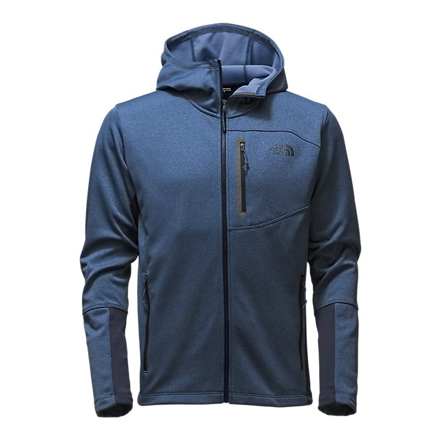 CHEAP NORTH FACE MEN'S CANYONLANDS HOODIE SHADY BLUE HEATHER ONLINE