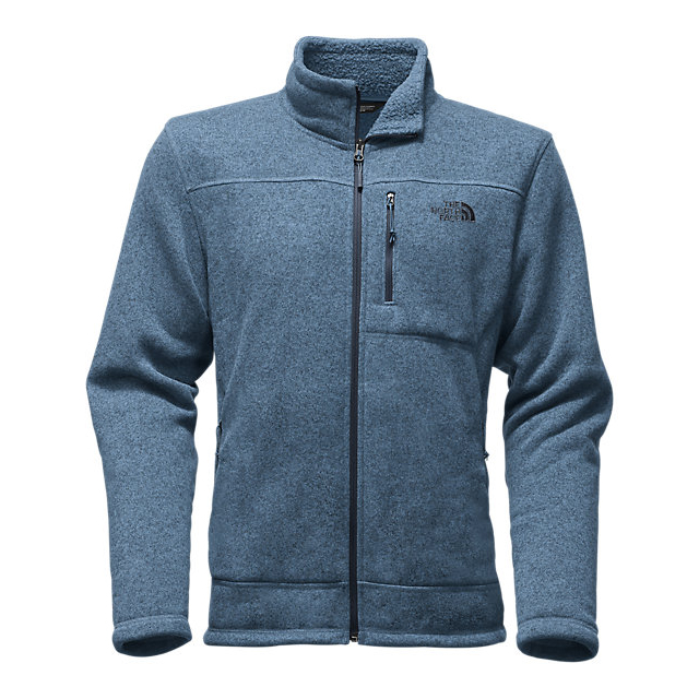 CHEAP NORTH FACE MEN'S GORDON LYONS FULL ZIP SHADY BLUE HEATHER ONLINE