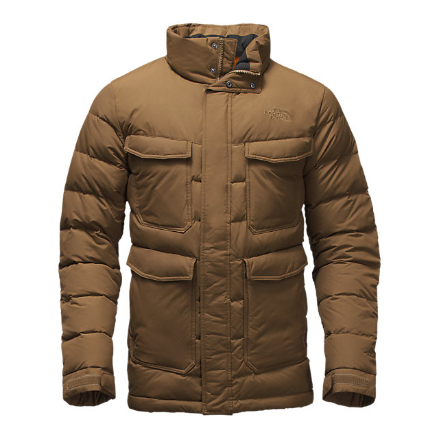 CHEAP NORTH FACE MEN'S FAR NORTHERN JACKET BROWN FIELD ONLINE