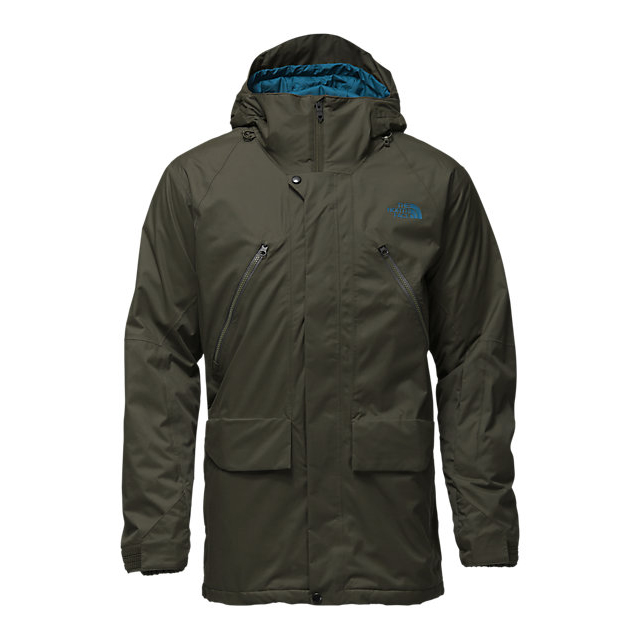 CHEAP NORTH FACE MEN'S SHERMAN INSULATED JACKET ROSIN GREEN WAX ONLINE