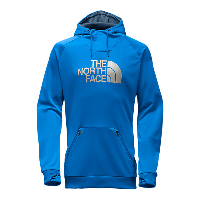 CHEAP NORTH FACE MEN'S BROLAPSE HOODIE BOMBER BLUE ONLINE