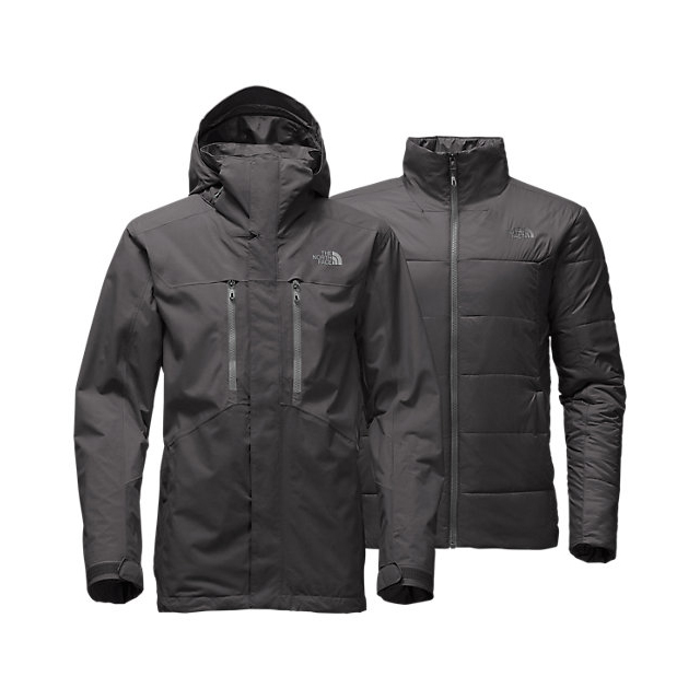 CHEAP NORTH FACE MEN'S CLEMENT TRICLIMATE JACKET ASPHALT GREY ONLINE