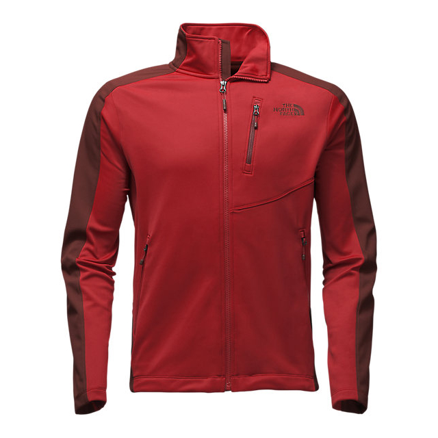 CHEAP NORTH FACE MEN'S TENACIOUS HYBRID FULL ZIP CARDINAL RED/SEQUOIA RED ONLINE