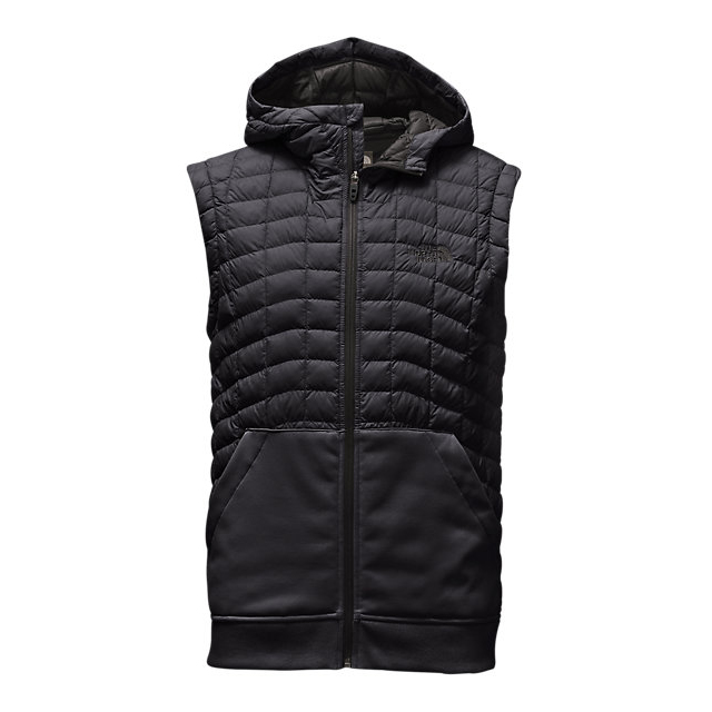 CHEAP NORTH FACE MEN'S KILOWATT THERMOBALL™ VEST BLACK / ASPHALT GREY ONLINE