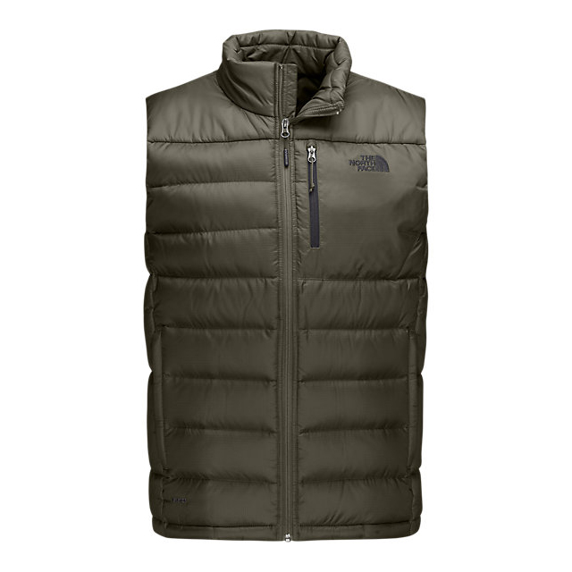CHEAP NORTH FACE MEN'S ACONCAGUA VEST FUSEBOX GREY ONLINE