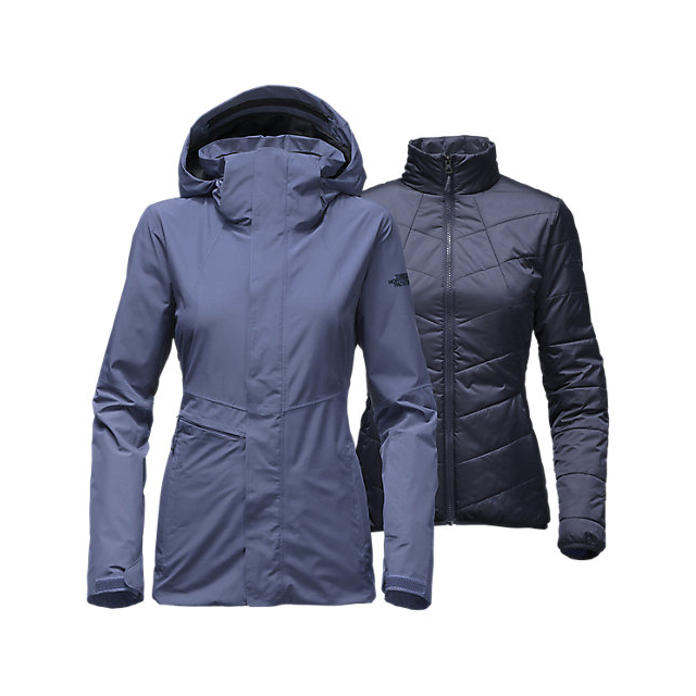 CHEAP NORTH FACE WOMEN'S GARNER TRICLIMATE  JACKET COASTAL FJORD BLUE ONLINE