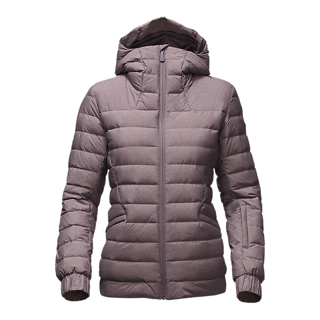 CHEAP NORTH FACE WOMEN'S MOONLIGHT JACKE RABBIT GREY HEATHER ONLINE