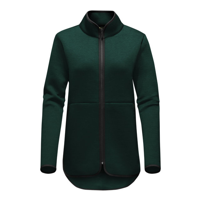 CHEAP NORTH FACE WOMEN'S THERMAL 3D FULL ZIP SCARAB GREEN BLACK HEATHER ONLINE