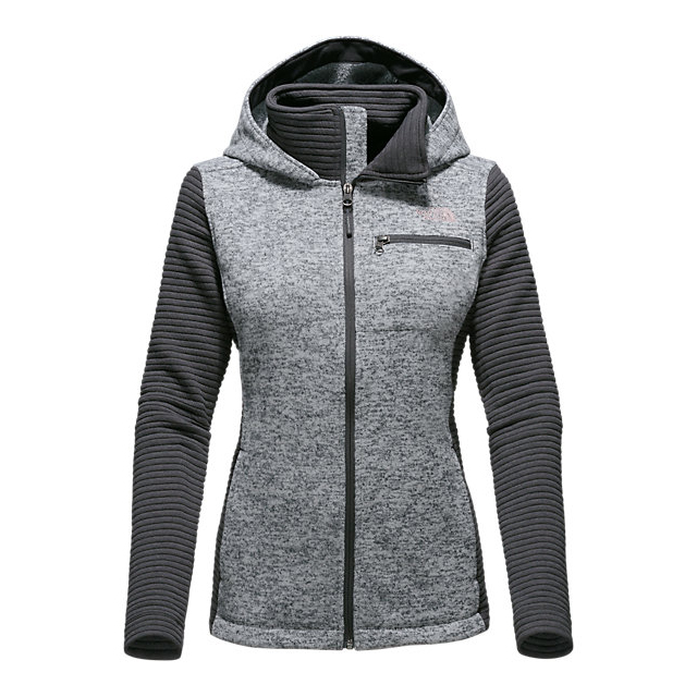 CHEAP NORTH FACE WOMEN'S NOVELTY INDI HOODIE LUNAR ICE GREY HEATHER/ASPHALT GREY ONLINE