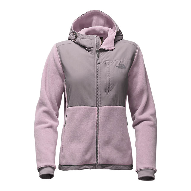 CHEAP NORTH FACE WOMEN'S DENALI 2 HOODIE QUAIL GREY/RABBT GREY ONLINE