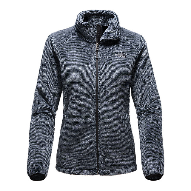 CHEAP NORTH FACE WOMEN'S OSITO 2 JACKET BLACK/MID GREY STRIPE ONLINE