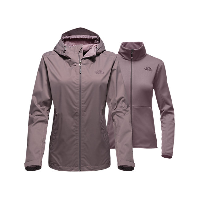 CHEAP NORTH FACE WOMEN'S ARROWOOD TRICLIMATE  JACKET QUAIL GREY DOBBY ONLINE