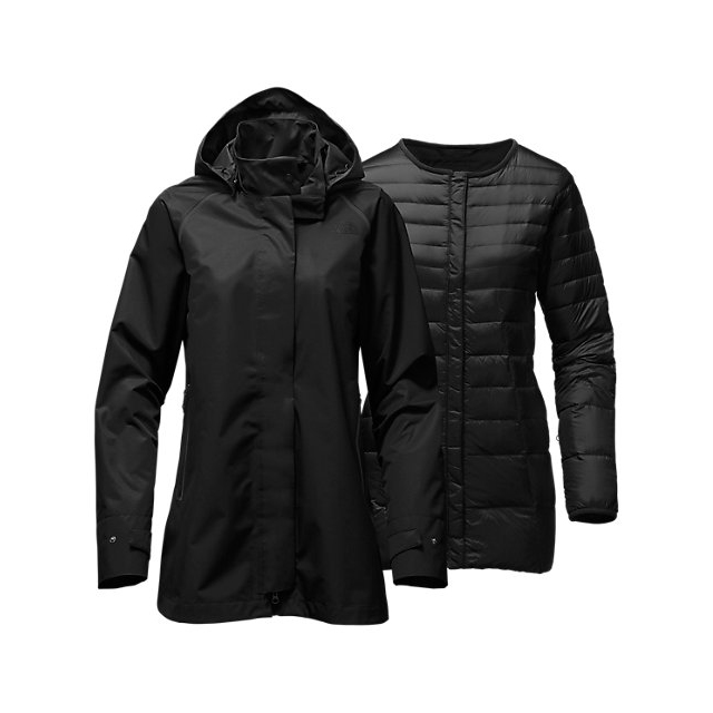 CHEAP NORTH FACE WOMEN'S MOSSWOOD TRICLIMATE BLACK ONLINE