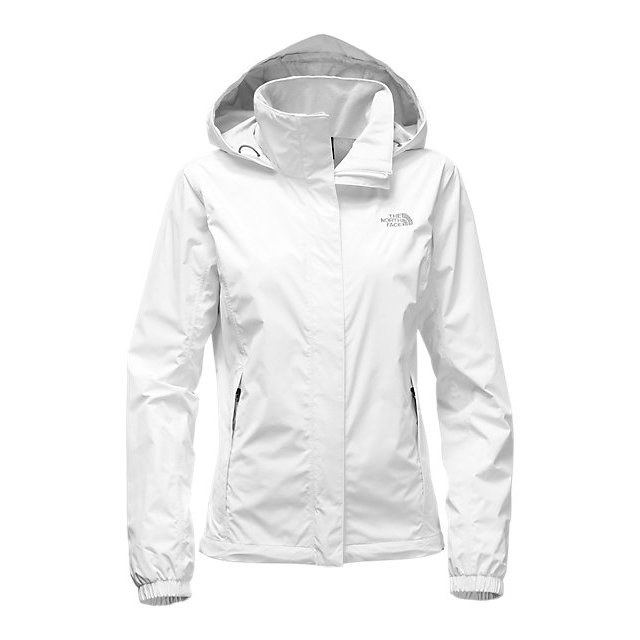 CHEAP NORTH FACE WOMEN'S RESOLVE JACKET WHITE ONLINE