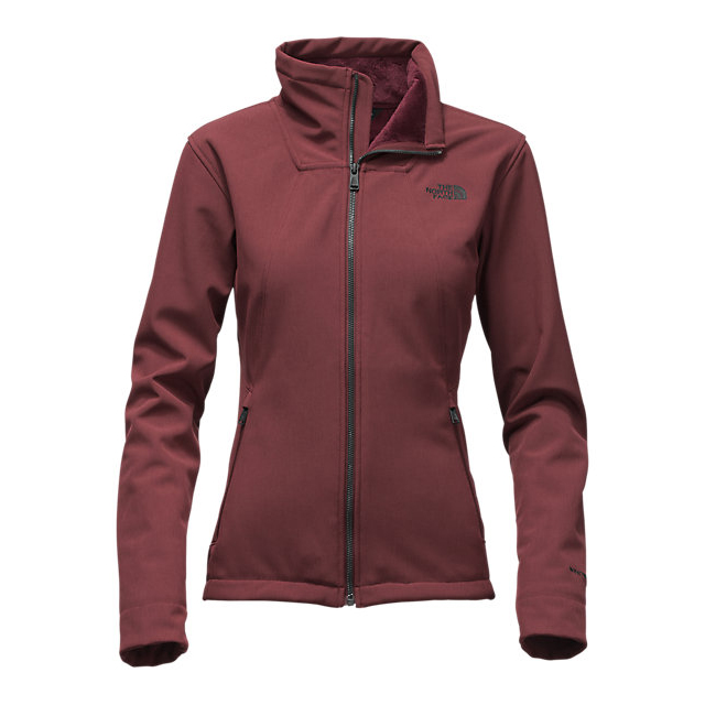 CHEAP NORTH FACE WOMEN'S APEX CHROMIUM THERMAL JACKET DEEP GARNET RED HEATHER ONLINE