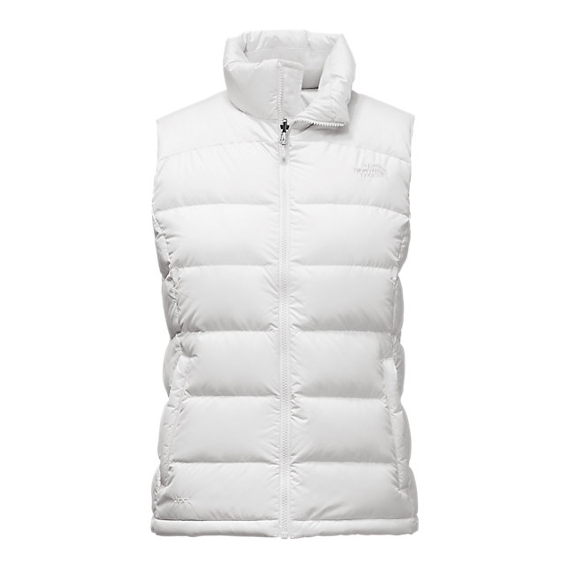 CHEAP NORTH FACE WOMEN'S NUPTSE 2 VEST WHITE ONLINE