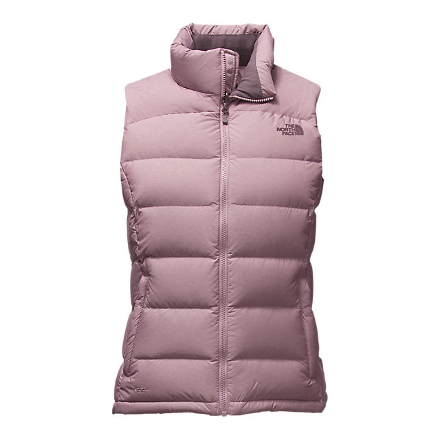 CHEAP NORTH FACE WOMEN'S NUPTSE 2 VEST QUAIL GREY HEATHER ONLINE
